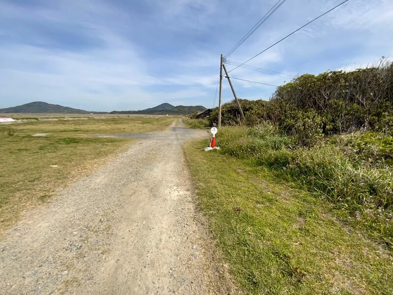 【糸島ピクニックビレッジオートキャンプ場】管理棟への道のり(テントサイトへ到着)