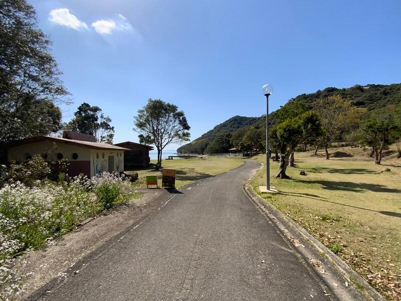 大崎自然公園キャンプ場 フリーサイト