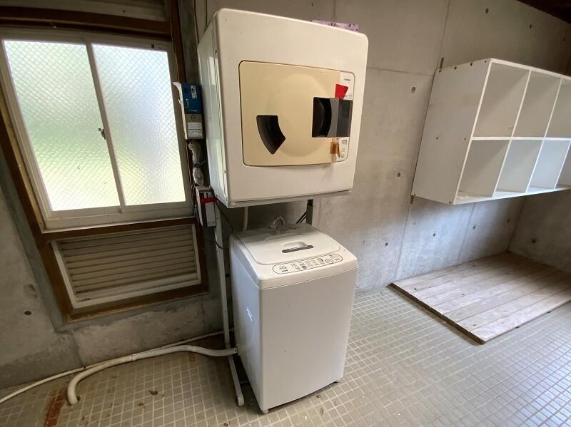大崎自然公園キャンプ場のランドリー設備