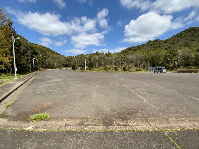 大崎自然公園キャンプ場 専用駐車場