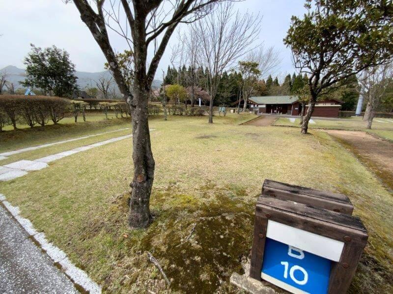 【ひなもりオートキャンプ場】個別サイトB-10番