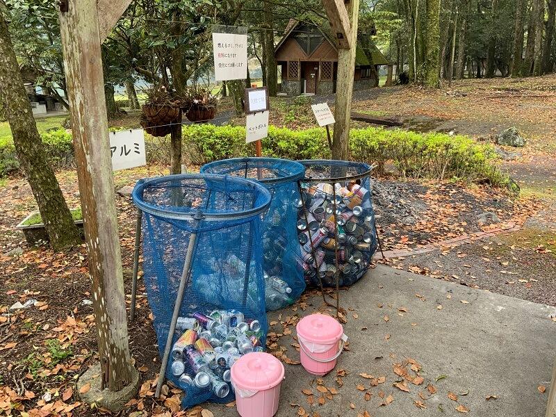 【御池キャンプ村】ゴミ捨て場