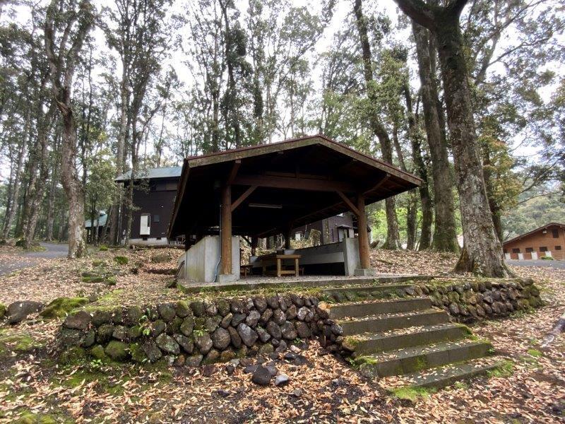 【御池キャンプ村】西側の炊事棟