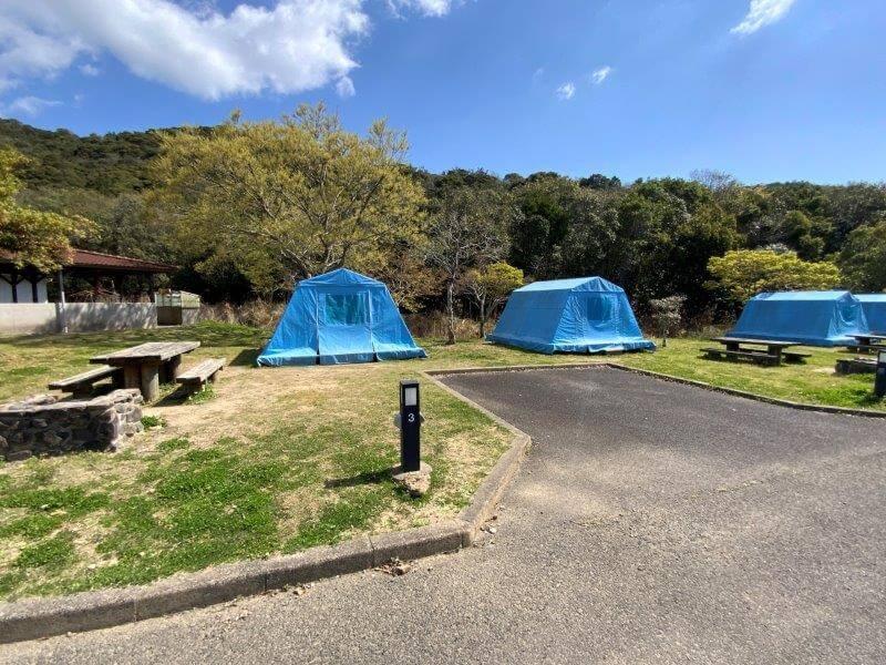 【大崎自然公園キャンプ場】オートサイト 3・4番サイト