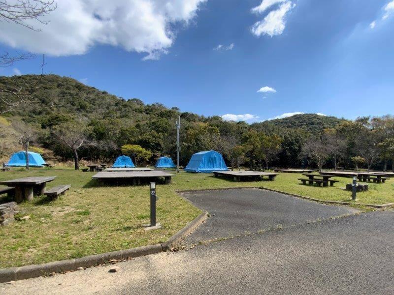 【大崎自然公園キャンプ場】オートサイト 31・32番サイト