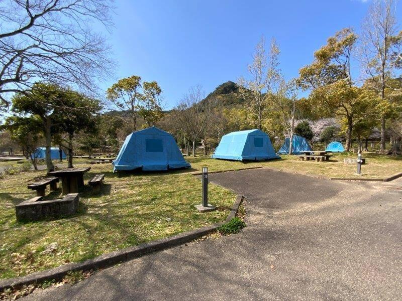 【大崎自然公園キャンプ場】オートサイト 35・36番サイト