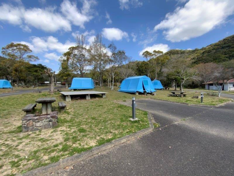 【大崎自然公園キャンプ場】オートサイト 37・38番サイト