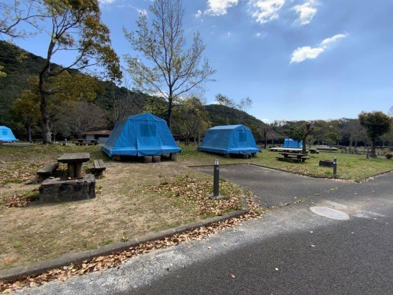 【大崎自然公園キャンプ場】オートサイト 39・40番サイト