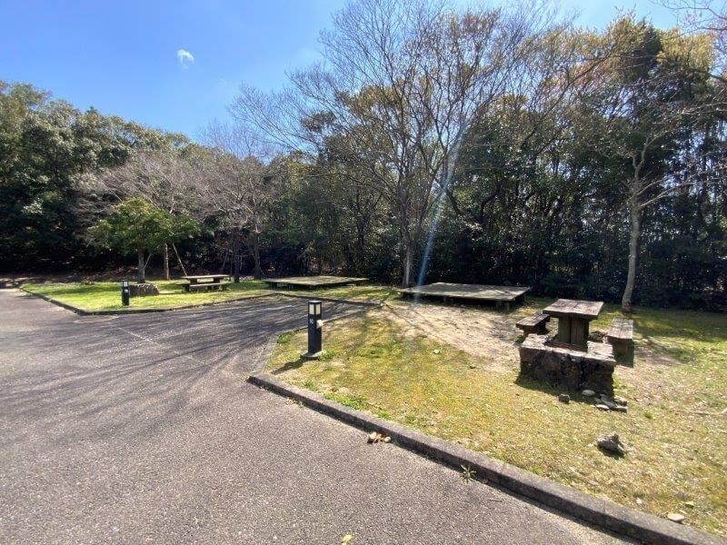 【大崎自然公園キャンプ場】オートサイト 9・10番サイト