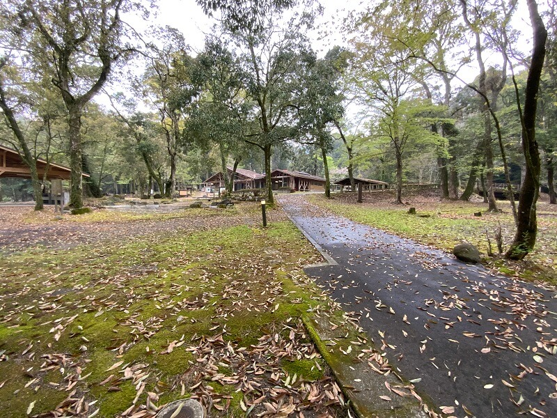 【ひなもりオートキャンプ場の旅行記】御池キャンプ村を見学した
