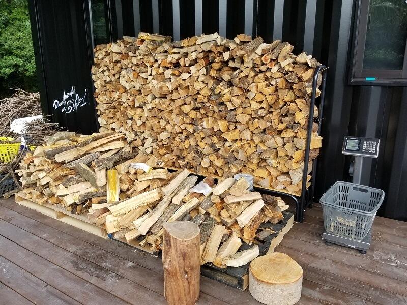 NORTH VALLEY(ノースバレー)キャンプサイト 薪の販売あり