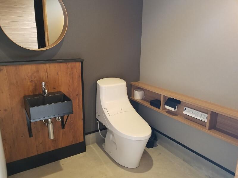 NORTH VALLEY(ノースバレー)キャンプサイトのトイレ
