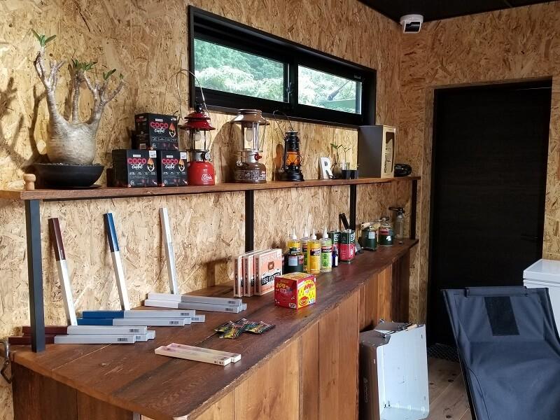 NORTH VALLEY(ノースバレー)キャンプサイト 売店