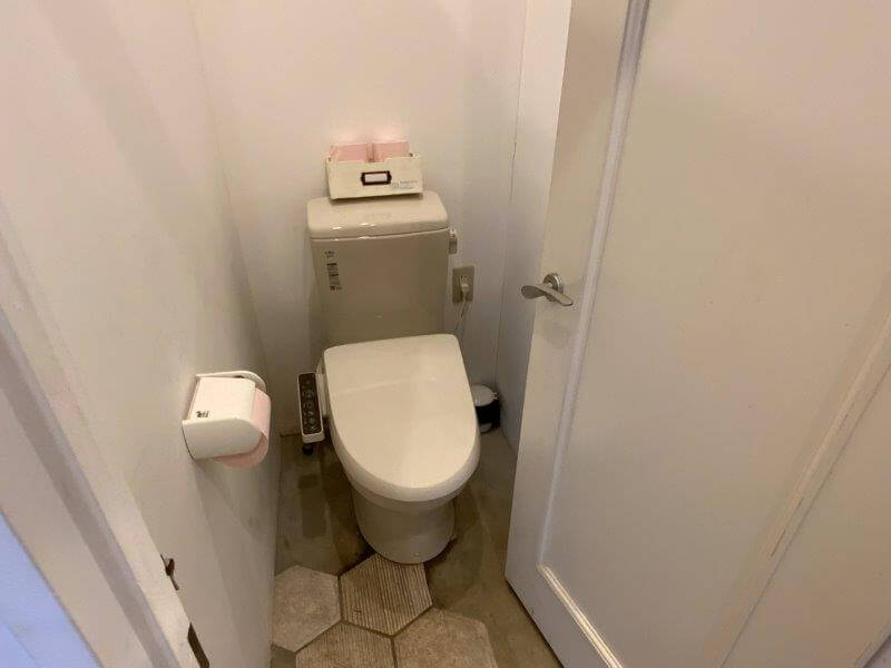 橘香園キャンプ場の女性トイレは洋式でした