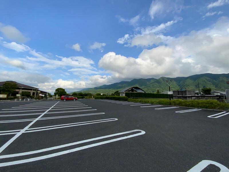 久留米ふれあい農業公園の駐車場