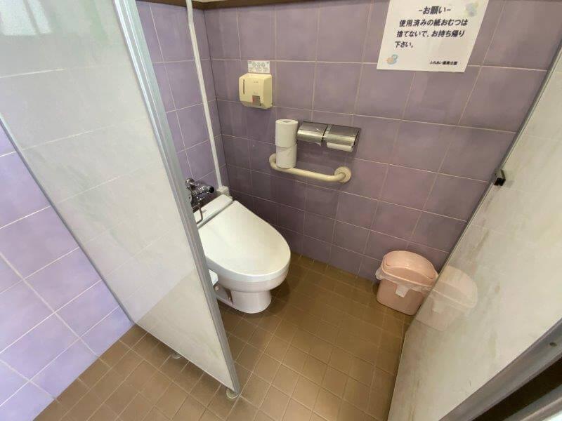 久留米ふれあい農業公園 管理棟内の洋式トイレ