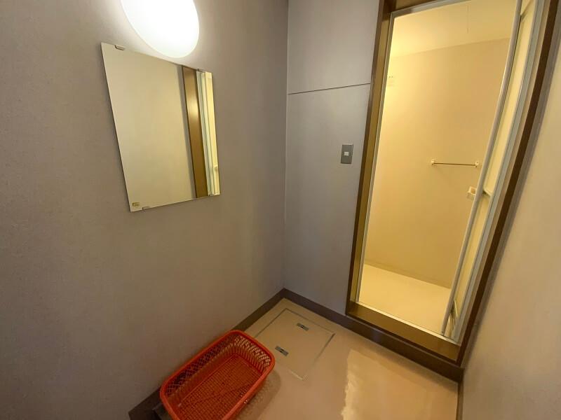 久留米ふれあい農業公園 管理棟にあるシャワールーム